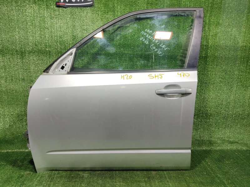 Дверь Subaru Forester SH5 EJ204 2008 передняя левая (б/у)