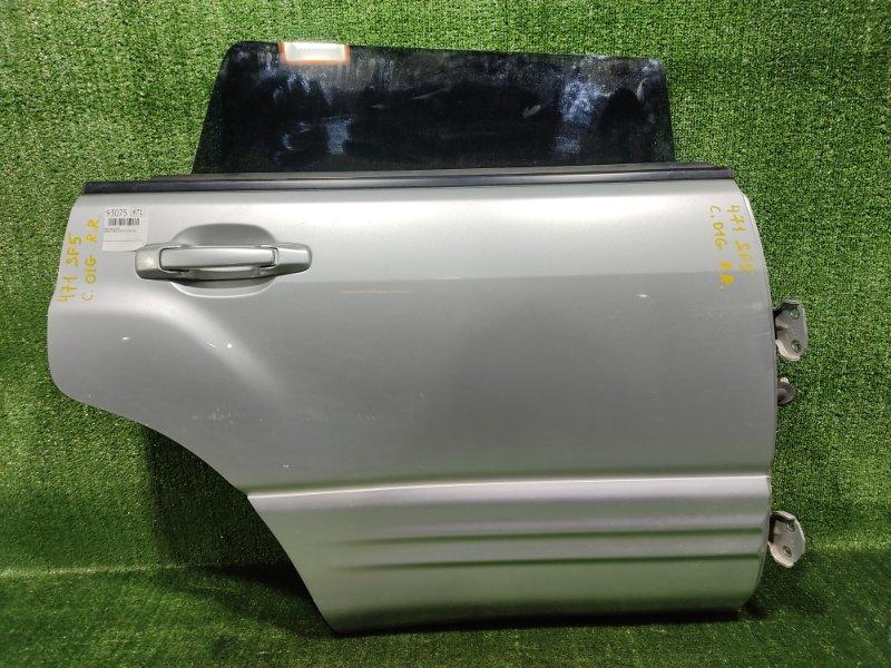 Дверь Subaru Forester SF5 EJ205 2001 задняя правая (б/у)