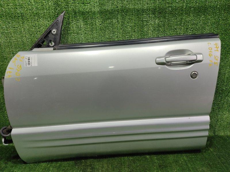Дверь Subaru Forester SF5 EJ205 2001 передняя левая (б/у)