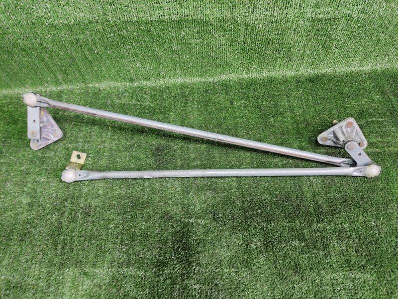Механизм дворников Subaru Forester SF5 EJ205 2001 передний (б/у)