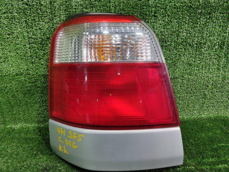 Стоп-сигнал Subaru Forester SF5 EJ205 2001 задний левый (б/у)