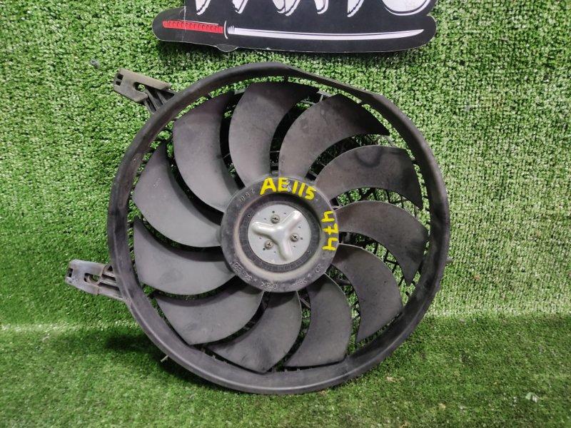 Вентилятор радиатора кондиционера Toyota Corolla Spacio AE115 7AFE 2000 (б/у)