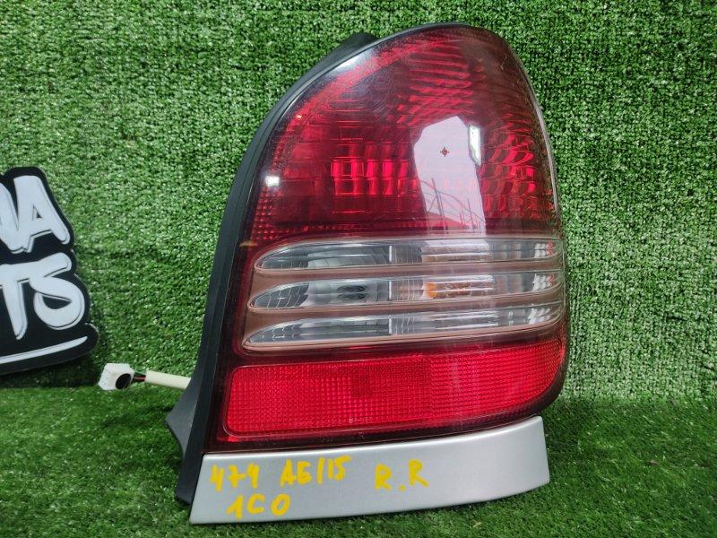 Стоп-сигнал Toyota Corolla Spacio AE115 7AFE 2000 задний правый (б/у)
