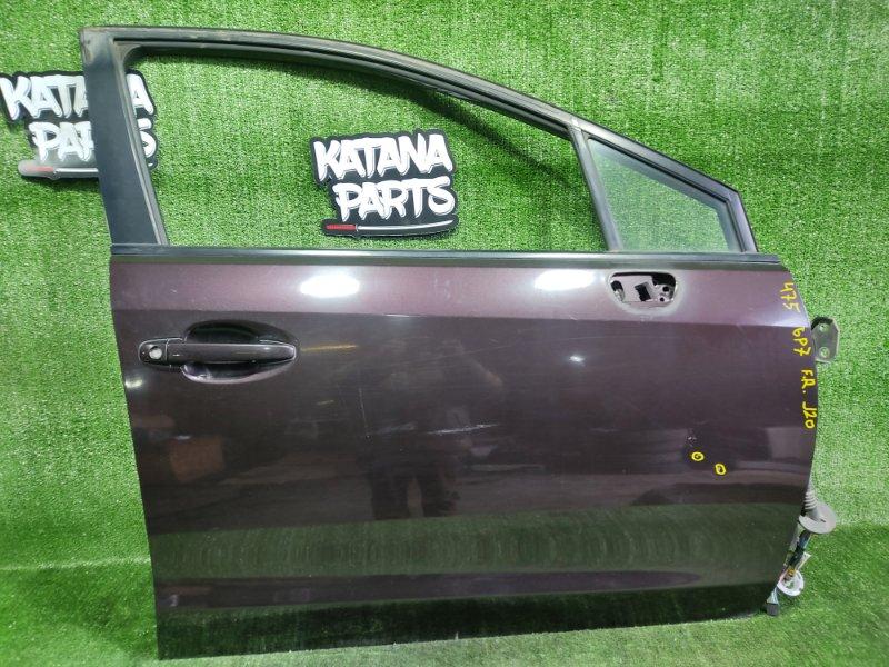 Дверь Subaru Impreza GP7 FB20A 2011 передняя правая (б/у)