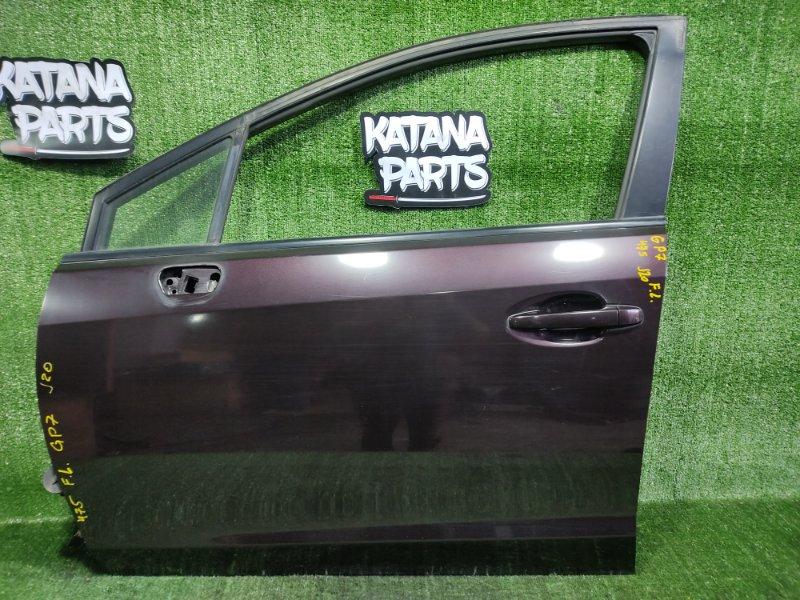 Дверь Subaru Impreza GP7 FB20A 2011 передняя левая (б/у)