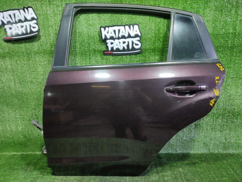 Дверь Subaru Impreza GP7 FB20A 2011 задняя левая (б/у)