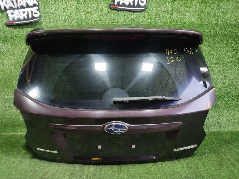 Дверь 5-я Subaru Impreza GP7 FB20A 2011 (б/у)
