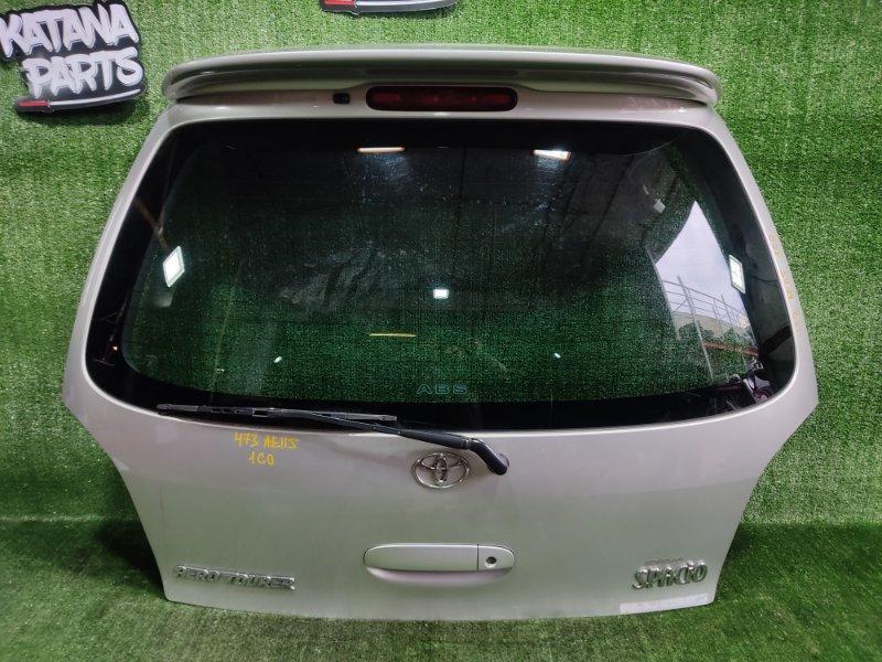 Дверь 5-я Toyota Corolla Spacio AE115 7AFE 2000 (б/у)