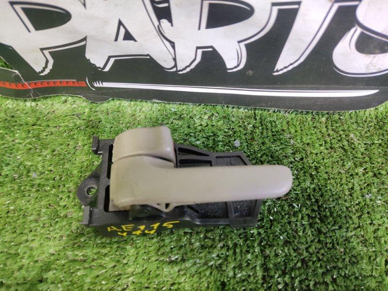 Ручка двери внутренняя Toyota Corolla Spacio AE115 7AFE 2000 передняя левая (б/у)