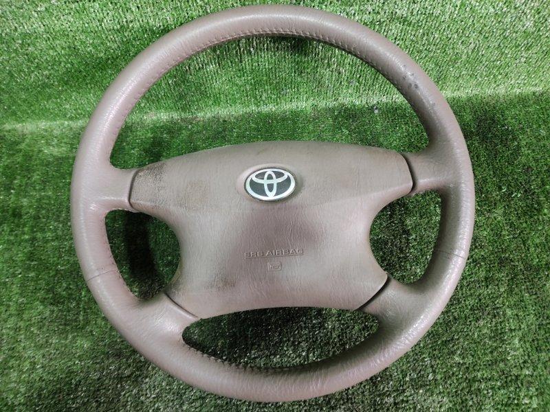 Руль с airbag Toyota Vista SV55 3SFE 2001 (б/у)
