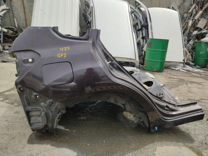 Крыло Subaru Impreza GP7 FB20A 2011 заднее правое (б/у)