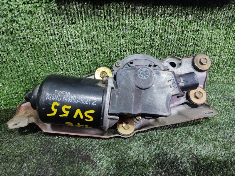 Мотор дворников Toyota Vista SV55 3SFE 2001 передний (б/у)
