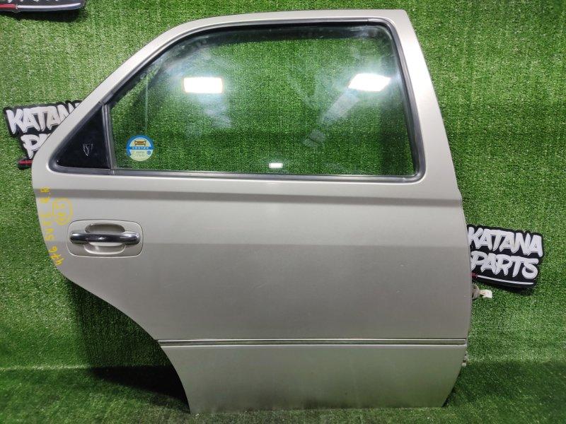Дверь Toyota Vista SV55 3SFE 2001 задняя правая (б/у)