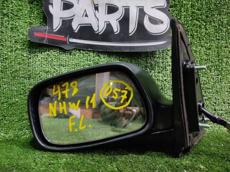 Зеркало Toyota Prius NHW11 1NZFXE 2000 переднее левое (б/у)