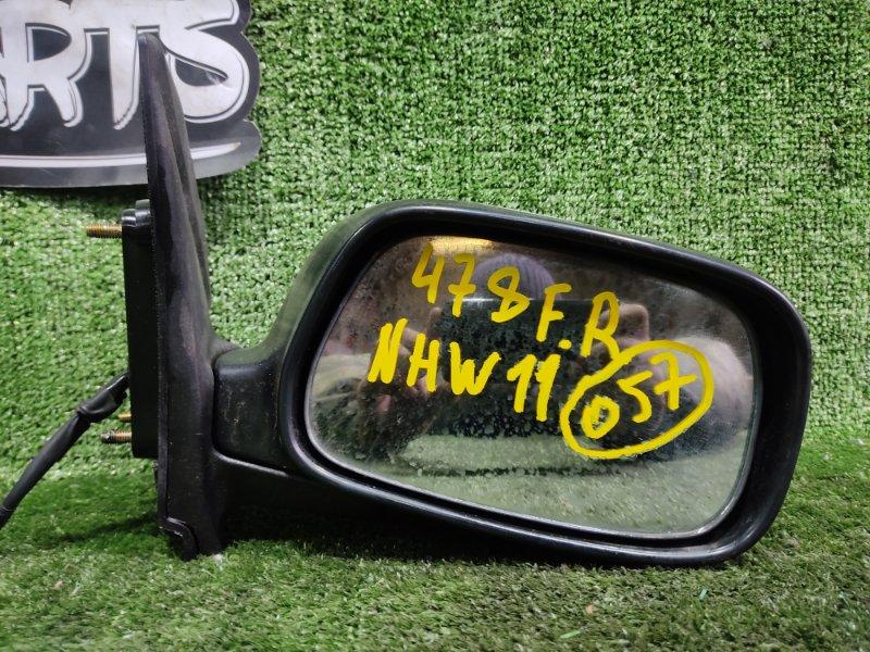Зеркало Toyota Prius NHW11 1NZFXE 2000 переднее правое (б/у)