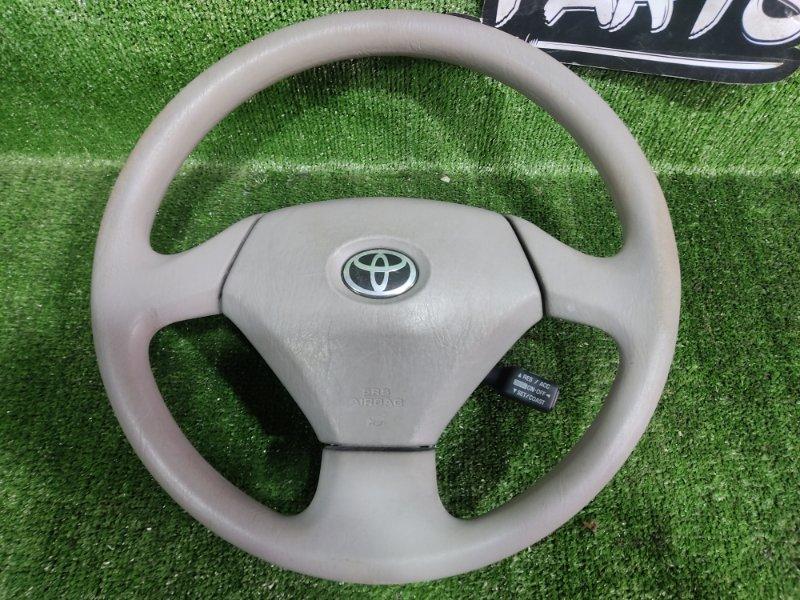 Руль с airbag Toyota Prius NHW11 1NZFXE 2000 (б/у)