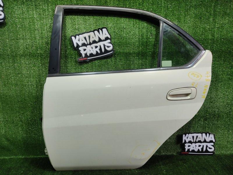 Дверь Toyota Prius NHW11 1NZFXE 2000 задняя левая (б/у)