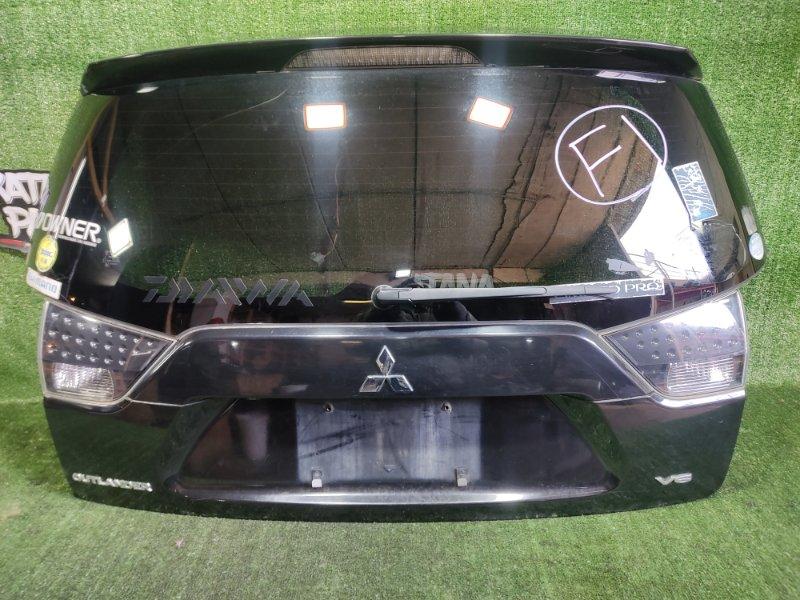 Дверь 5-я Mitsubishi Outlander CW6W 6B31 2008 задняя (б/у)