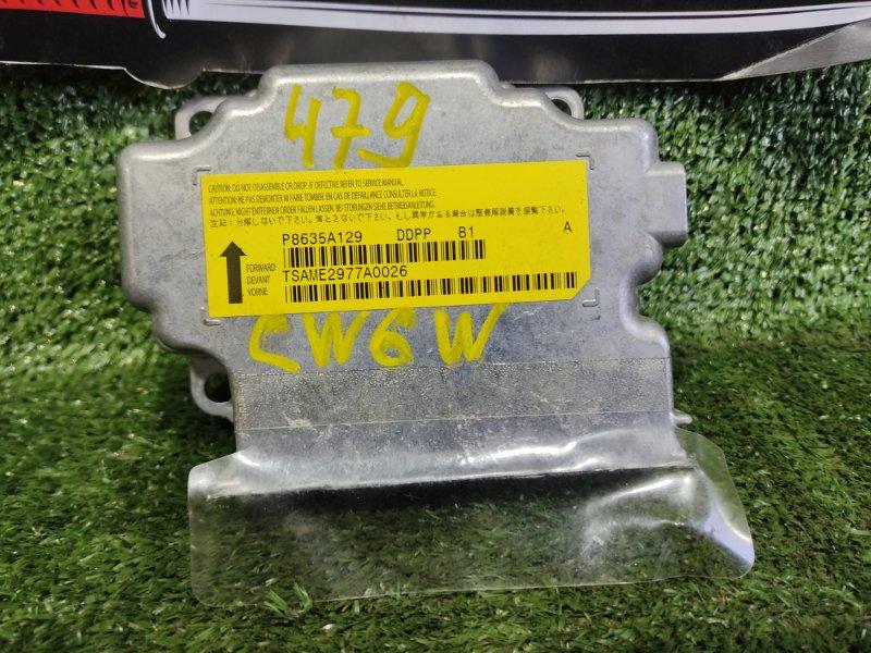 Блок управления airbag Mitsubishi Outlander CW6W 6B31 2008 (б/у)