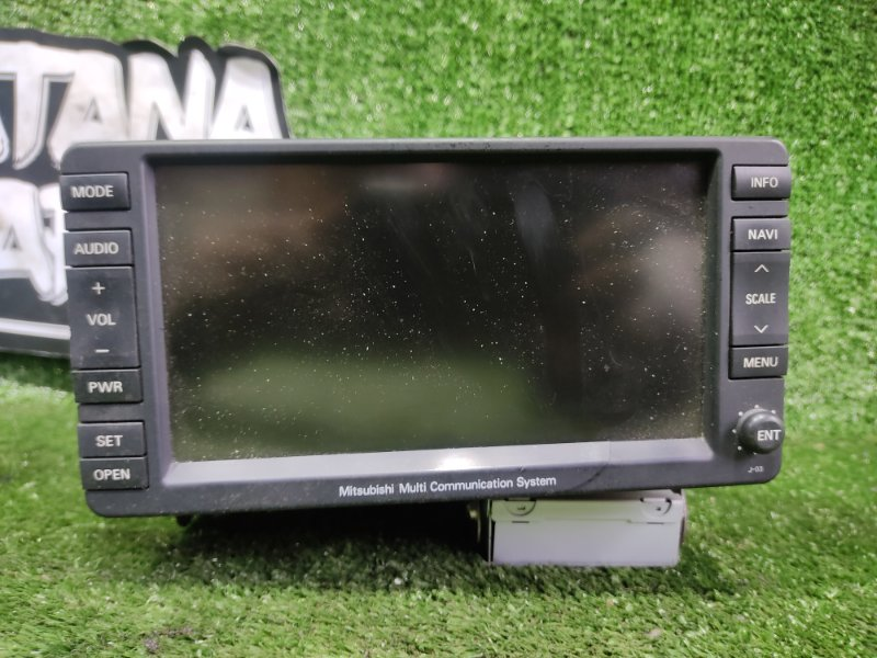 Магнитофон Mitsubishi Outlander CW6W 6B31 2008 (б/у)