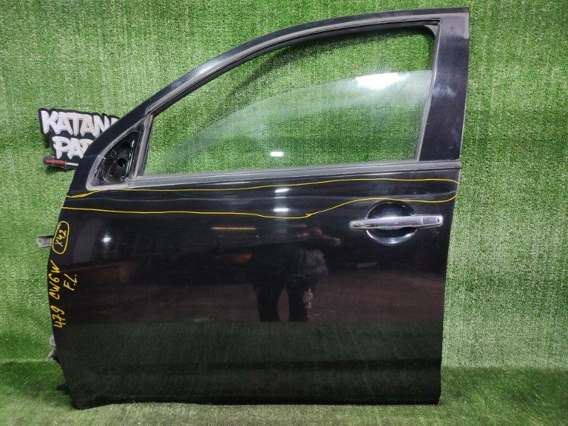 Дверь Mitsubishi Outlander CW6W 6B31 2008 передняя левая (б/у)
