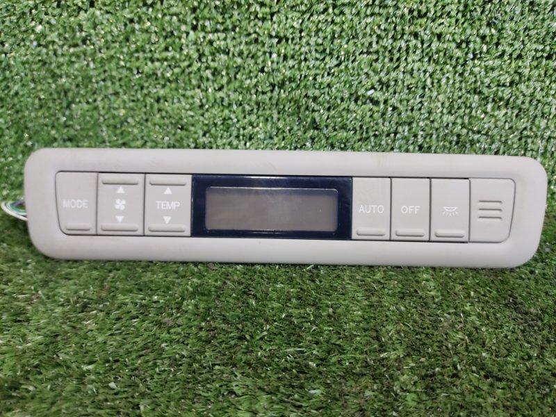 Блок управления климат-контролем Toyota Alphard ANH15 2AZFE 2003 задний (б/у)