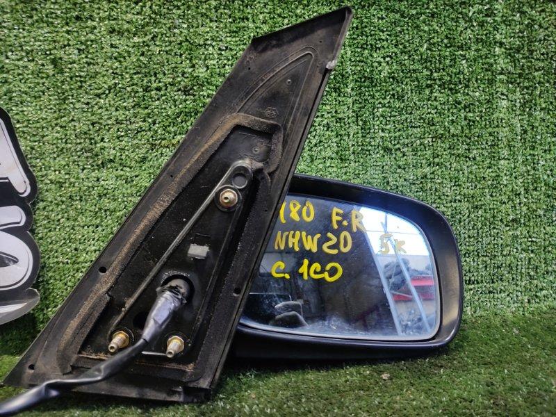 Зеркало Toyota Prius NHW20 1NZFXE 2004 переднее правое (б/у)