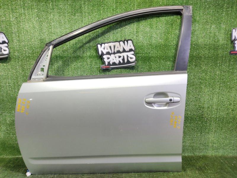 Дверь Toyota Prius NHW20 1NZFXE 2004 передняя левая (б/у)