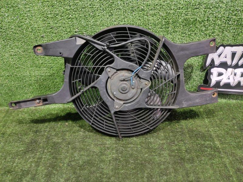 Вентилятор радиатора кондиционера Nissan Elgrand AVWE50 QD32ETI 1998 передний левый (б/у)