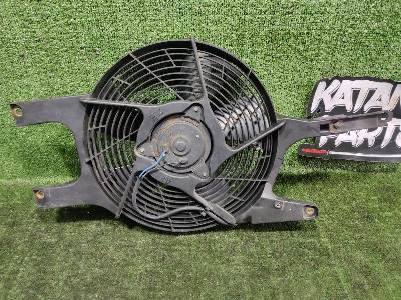 Вентилятор радиатора кондиционера Nissan Elgrand AVWE50 QD32ETI 1998 передний правый (б/у)