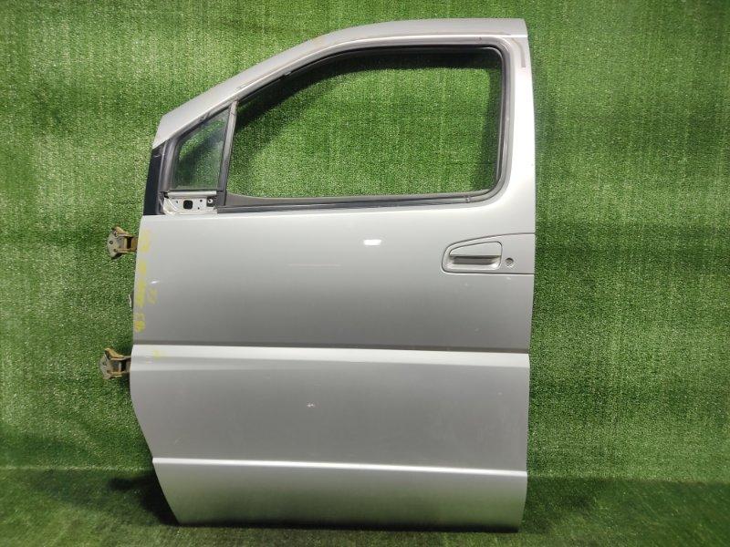 Дверь Nissan Elgrand AVWE50 QD32ETI 1998 передняя левая (б/у)