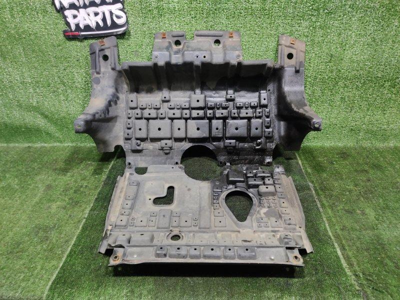 Защита двигателя Nissan Elgrand AVWE50 QD32ETI 1998 (б/у)