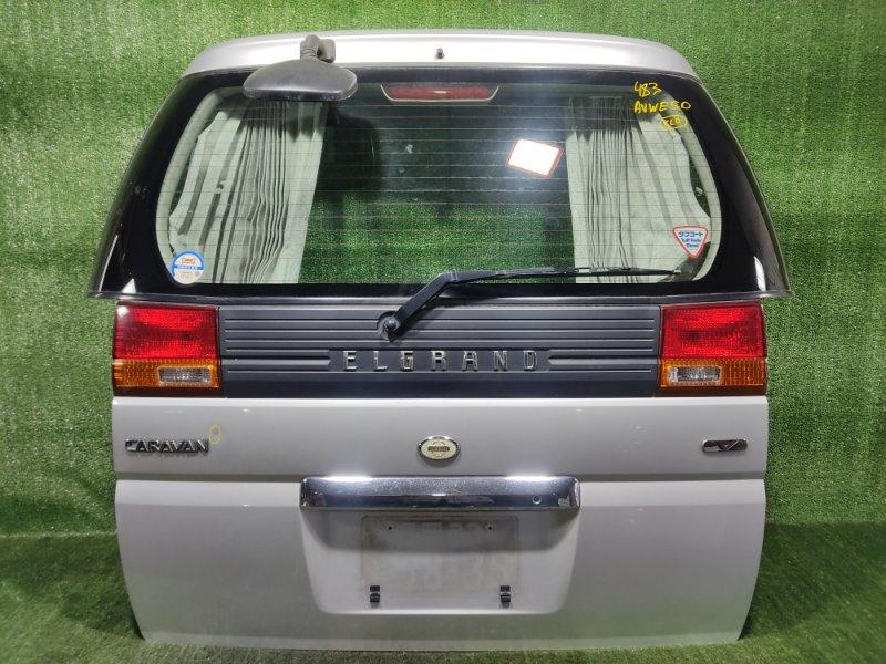Дверь 5-я Nissan Elgrand AVWE50 QD32ETI 1998 (б/у)