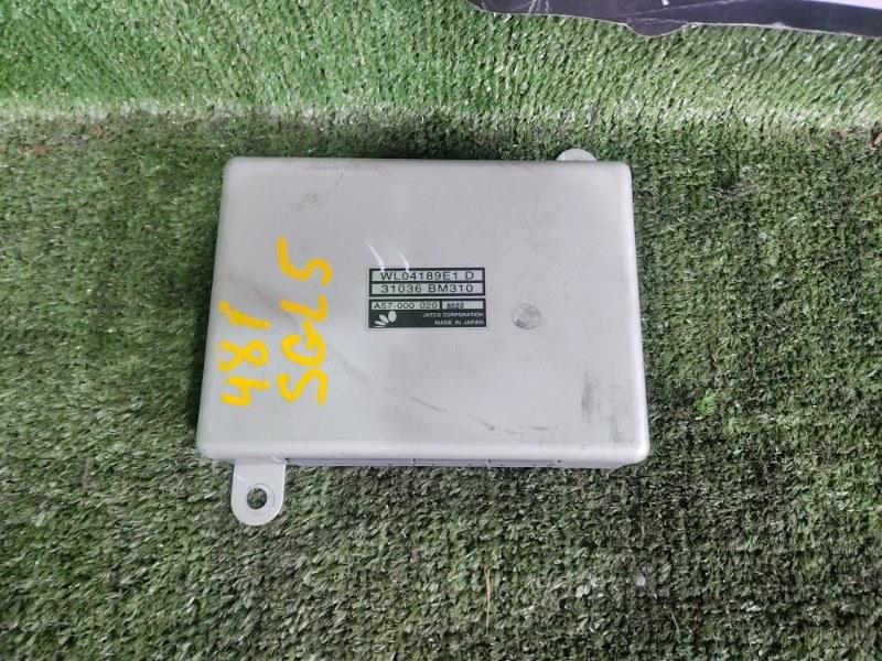 Блок управления efi Mazda Bongo Friendee SGL5 WLT 1998 (б/у)