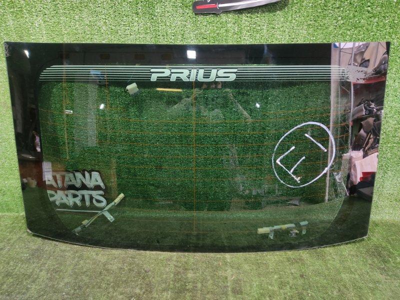 Стекло задней двери Toyota Prius NHW20 1NZFXE 2004 (б/у)