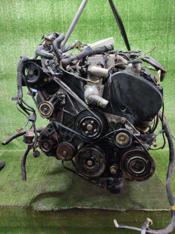 Двигатель Mitsubishi Pajero V25W 6G74 1998 (б/у)