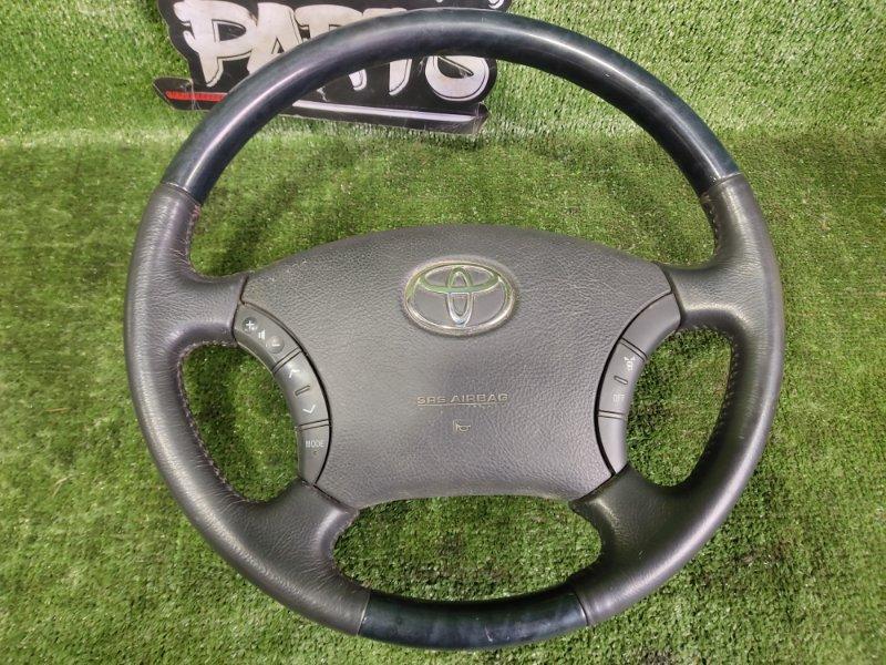 Руль с airbag Toyota Alphard MNH15 1MZFE 2002 (б/у)