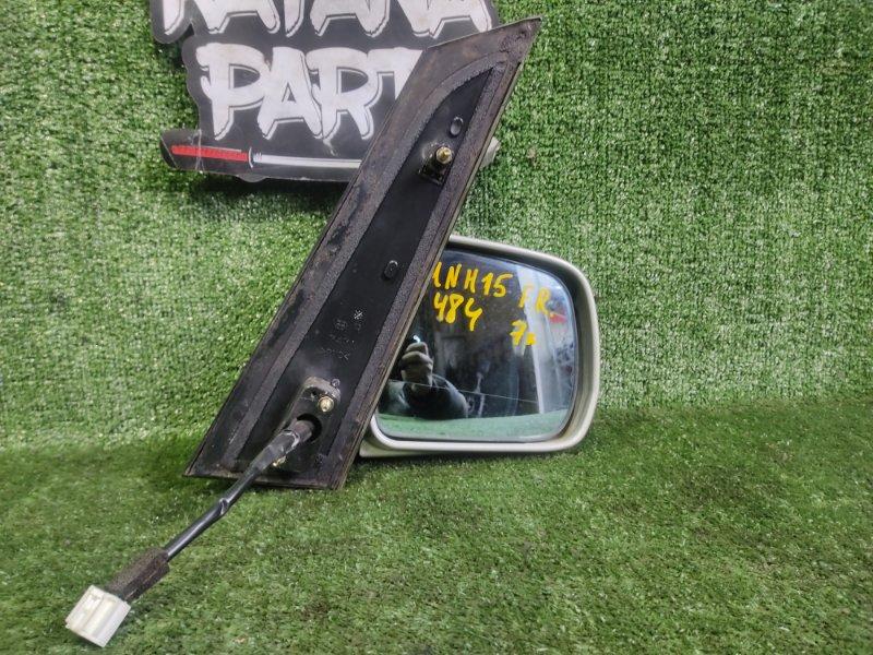 Зеркало Toyota Alphard MNH15 1MZFE 2002 переднее правое (б/у)