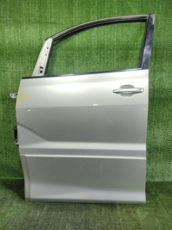 Дверь Toyota Alphard MNH15 1MZFE 2002 передняя левая (б/у)