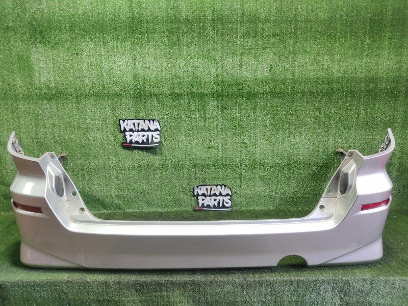 Бампер Toyota Alphard MNH15 1MZFE 2002 задний (б/у)