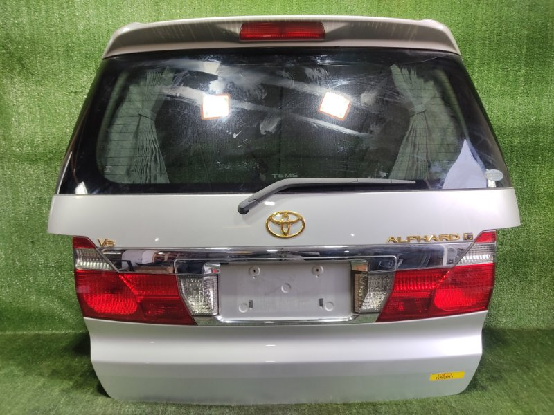 Дверь 5-я Toyota Alphard MNH15 1MZFE 2002 (б/у)