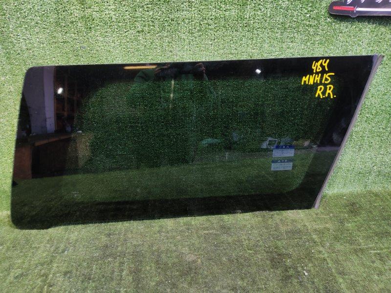 Стекло собачника Toyota Alphard MNH15 1MZFE 2002 заднее правое (б/у)