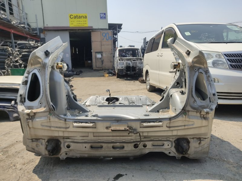Задняя часть а/м Toyota Prius NHW20 1NZFXE 2003 задняя (б/у)