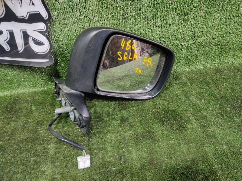 Зеркало Mazda Bongo Friendee SGLR WLT 1996 переднее правое (б/у)