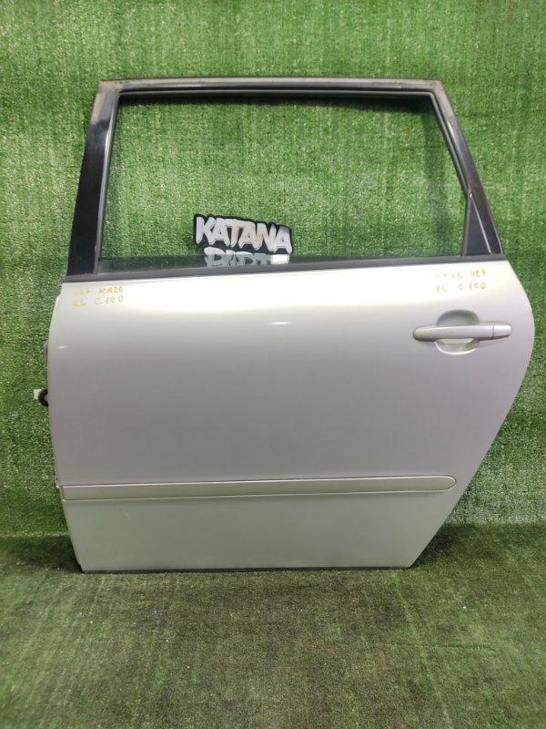 Дверь Toyota Ipsum ACM26 2AZFE 2002 задняя левая (б/у)