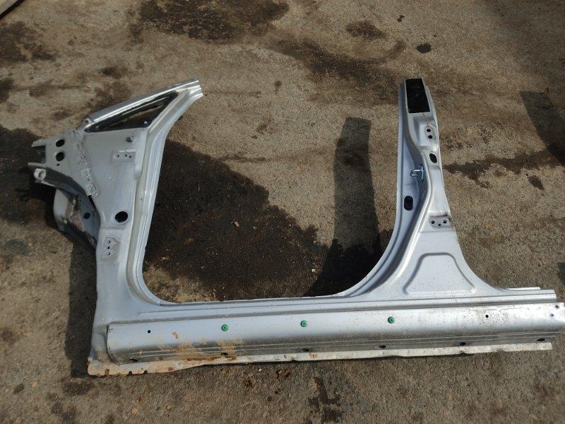 Порог Toyota Ipsum ACM26 2AZFE 2002 передний левый (б/у)