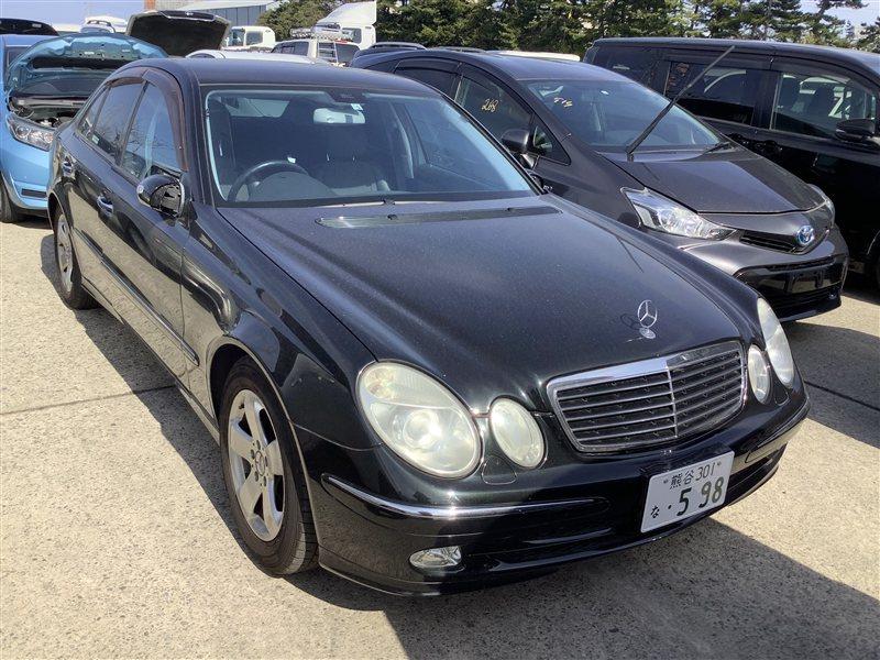 Рычаг Mercedes-Benz E-Class W211 M112E32 2003 задний левый нижний (б/у)