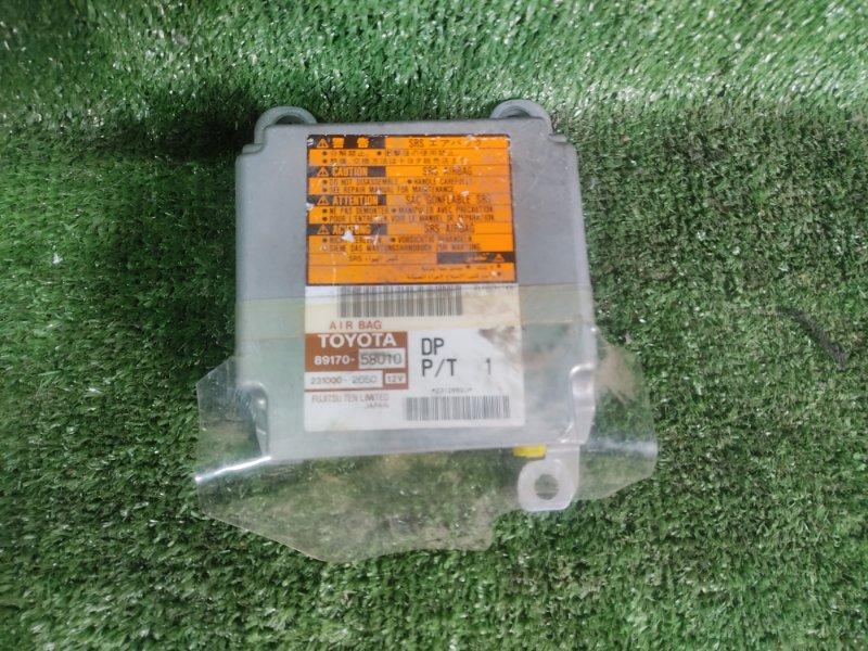 Блок управления airbag Toyota Alphard MNH15 1MZFE 2002 (б/у)