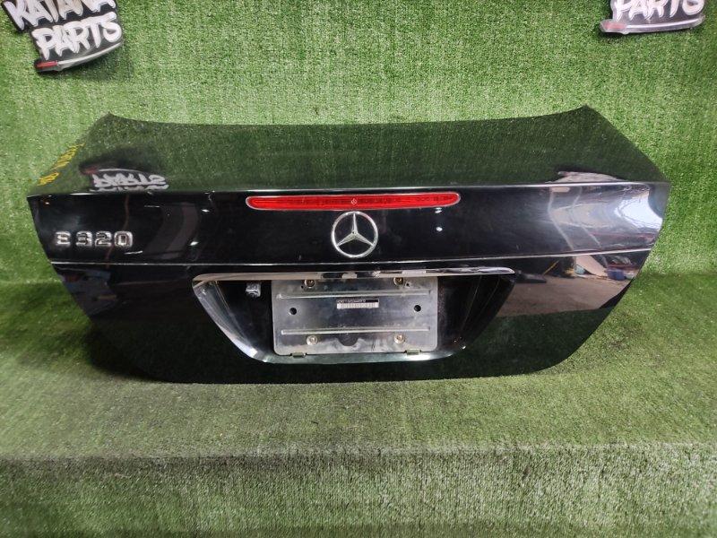 Крышка багажника Mercedes-Benz E-Class W211 M112E32 2003 задняя (б/у)