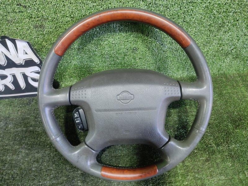 Руль с airbag Nissan Elgrand AVWE50 QD32ETI 1998 (б/у)